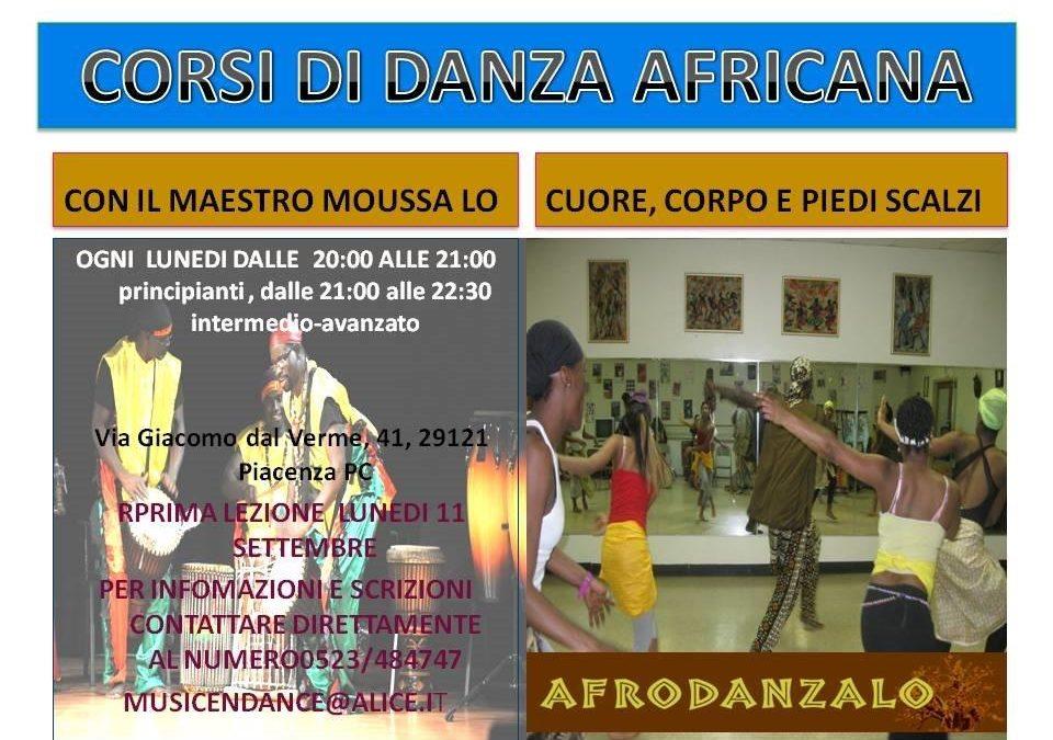 Corsi di danza africana Piacenza