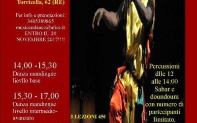 Stage di danza africana