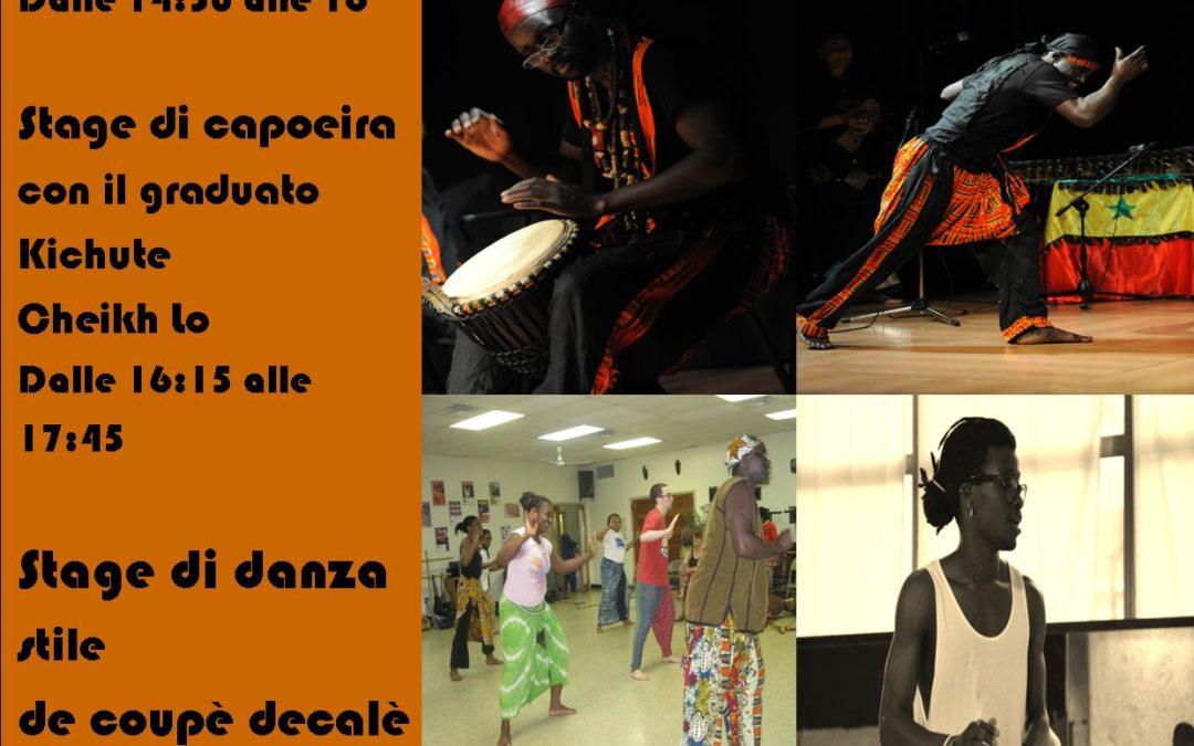 Stage di danza e percussioni africane Piacenza