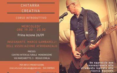 Corso chitarra creativa