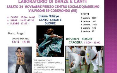 Laboratorio di danze e canti