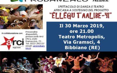 Spettacolo di danza e teatro del 30 Marzo