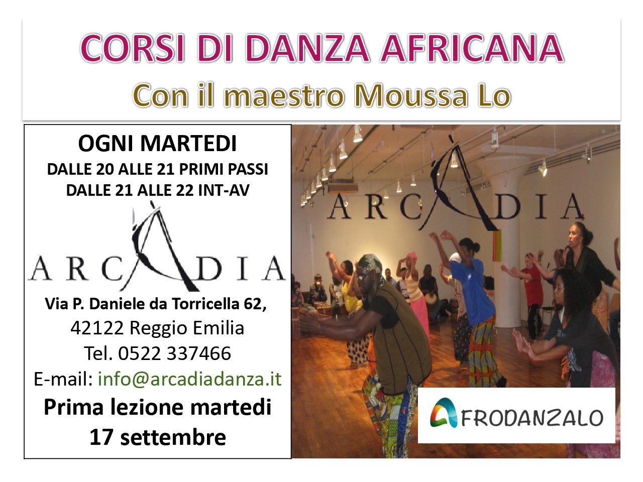 Corsi di danza africana Reggio Emilia