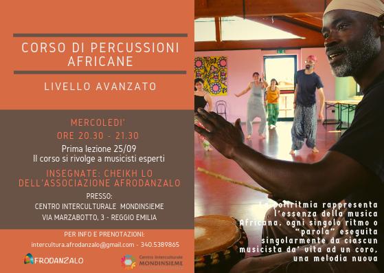 Corso percussioni africane