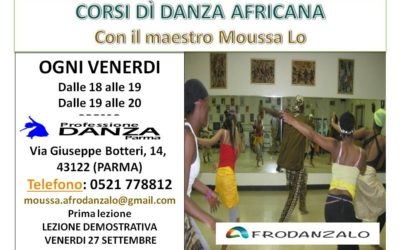 Corso di danza africana a Parma