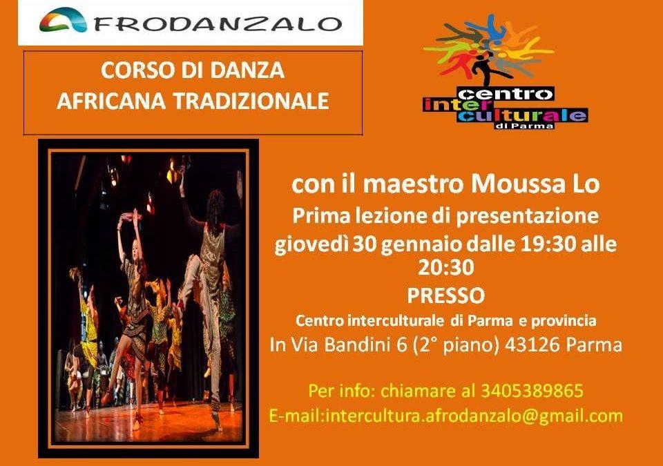 Corso di danza africana 30 Gennaio 2020 a Parma