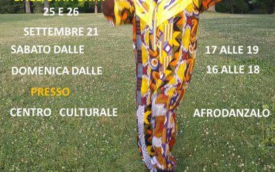 Laboratorio di Danza Africana con Youssou Lo dagli Stati Uniti – 25 e 26 settembre 2021